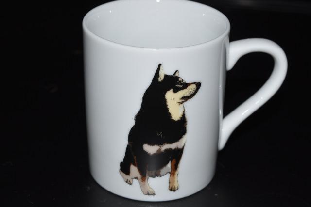 【柴犬】リアルでかわいい黒柴マグカップ